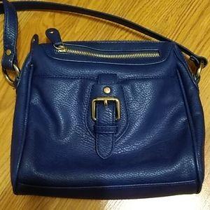Liz Claiborne blue crossbody purse